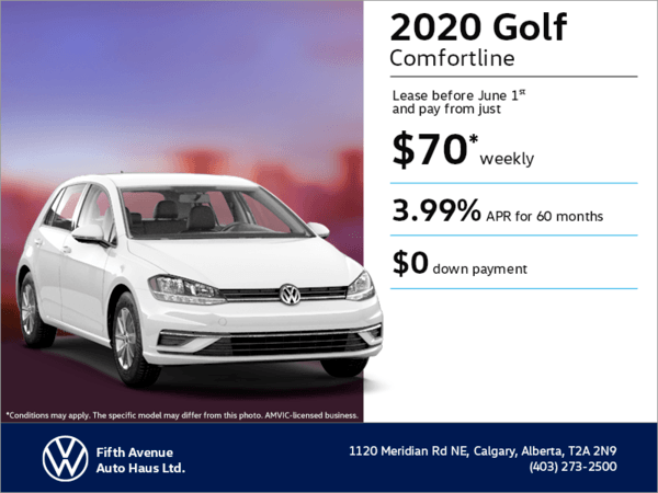 Get the 2020 Golf !